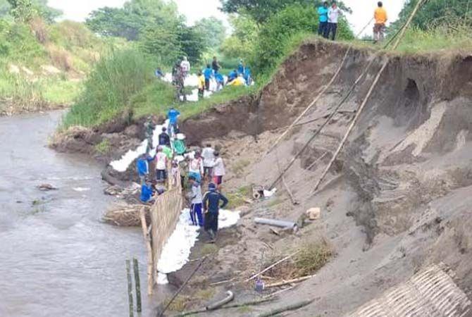 Proyek Tanggap Darurat Bencana Kali Konto, Pemkab Jombang Setengah Hati
